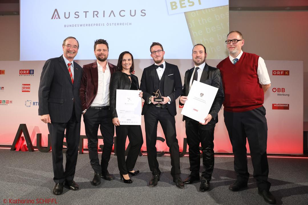 Austriacus Bundeswerbepreis Österreich